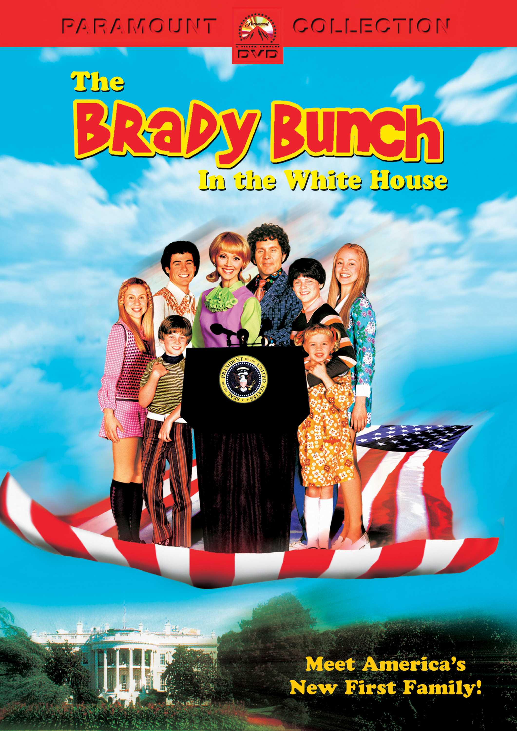 BRADY BUNCH IN THE WHITE HOUSE BY LONG,SHELLEY (DVD)
