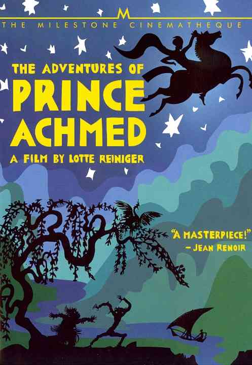 ADVENTURES OF PRINCE ACHMED BY REINIGER,LOTTE (DVD)